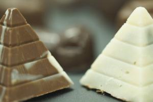 Chocolats pyramides